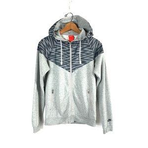 NIKE Red Tag L/S Full-Zip Hoodie Hooded Sweatshirt